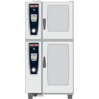 Rational Combi-Duo kit - 61 gas - voet 150 mm.
