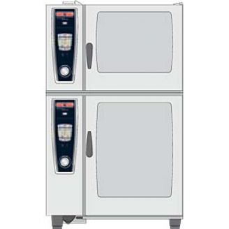 Rational Combi-Duo kit - 62 gas - voet 150 mm.